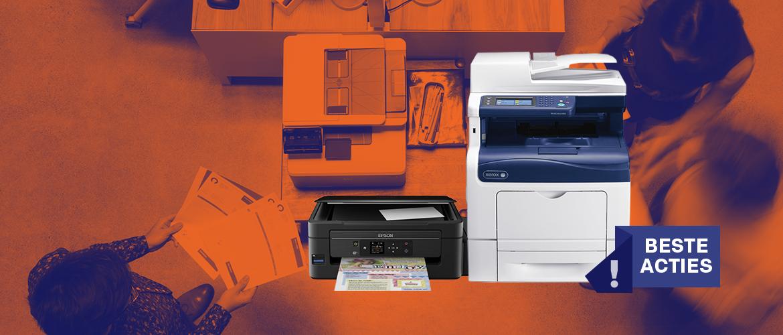 De beste printeracties van dit moment