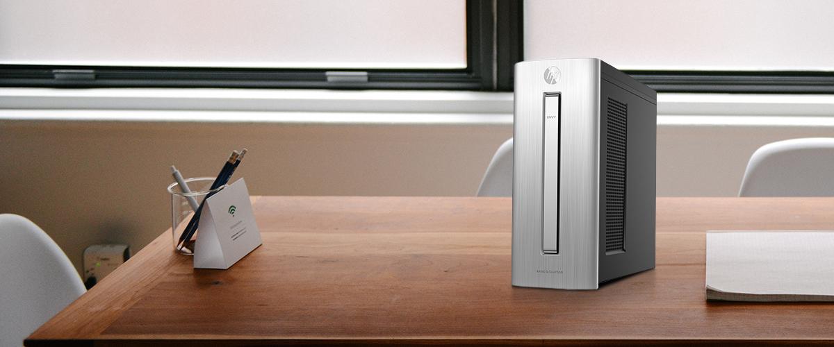 HP Envy desktop is stijlvol, geavanceerd en slim