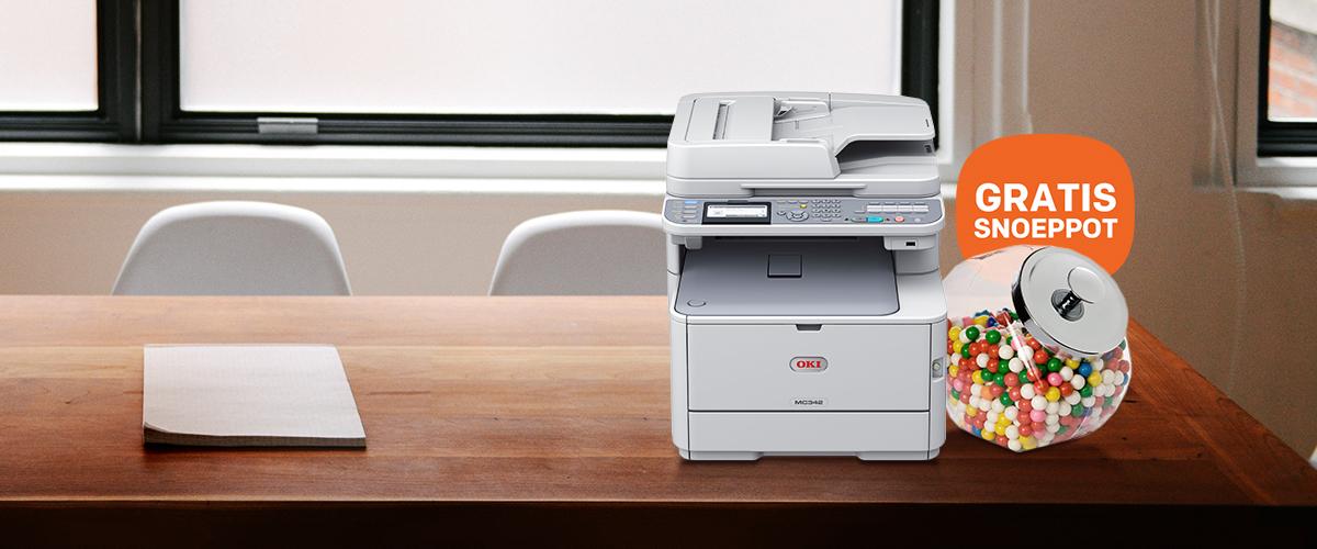 Smakelijk OKI printeractie