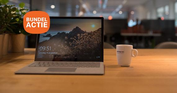 Tot 150,- korting op de Surface Pro met Type Cover