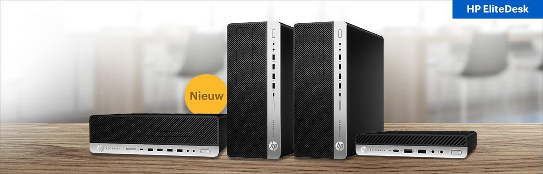 De nieuwe generatie HP EliteDesk 800 G5