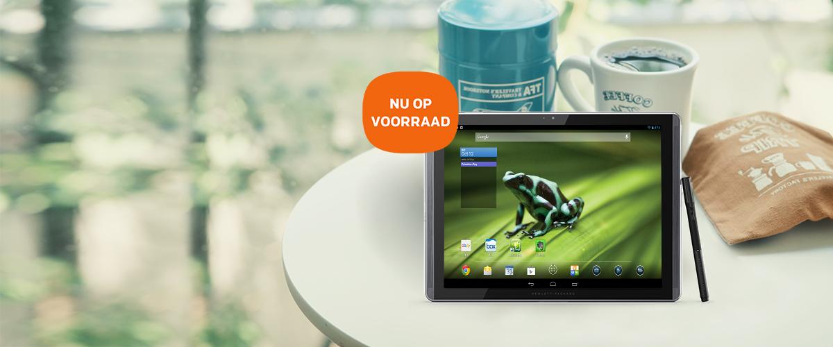 Nu op voorraad: nieuwe HP Pro Slate tablets