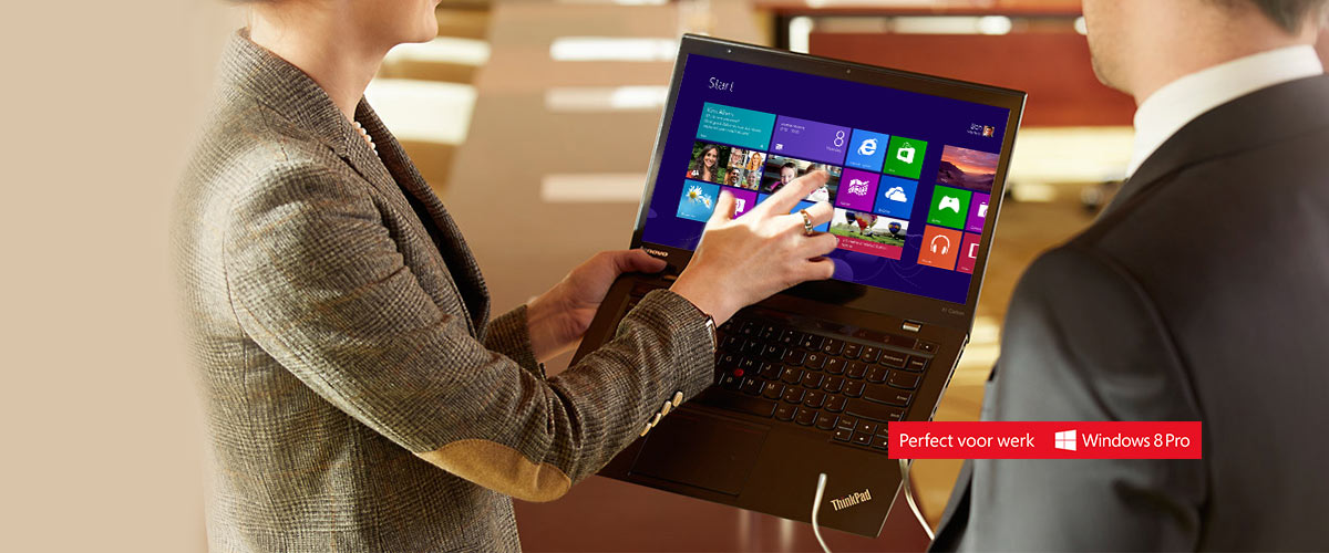Voorradig: de Lenovo ThinkPad X1 Carbon Touch
