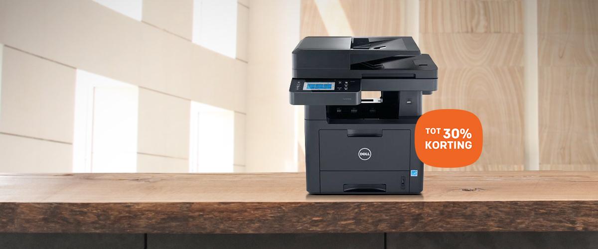 Dell laserprinters en multifunctionals