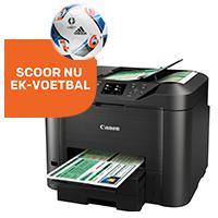 GRATIS EK-voetbal bij Canon actieprinters