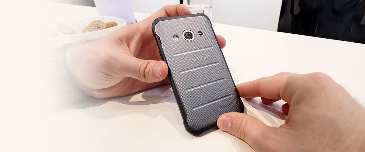 Samsung Xcover 3 smartphone