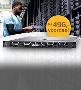 Tot 496,- voordeel op PowerEdge servers met Windows Server