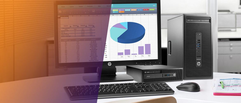De nieuwe HP EliteDesk 705 desktops voor uw kantoor