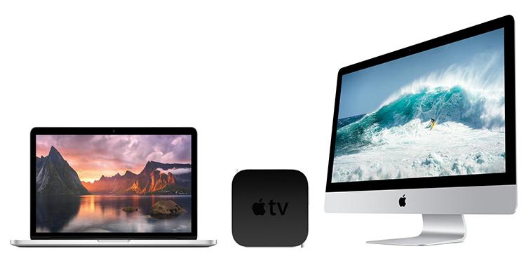 GRATIS Apple TV bij de nieuwste Mac's
