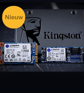 Kingston UV500 SSD's