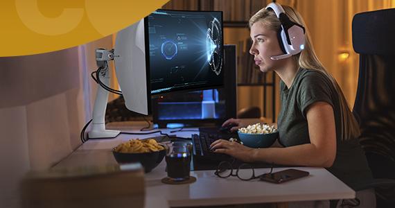 Benut je bureau optimaal met de Ergotron HX monitorarm met HD Pivot