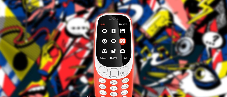 De iconische Nokia 3310 is terug!