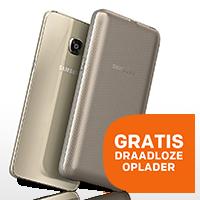 GRATIS draadloze oplader bij Galaxy S6 Edge +