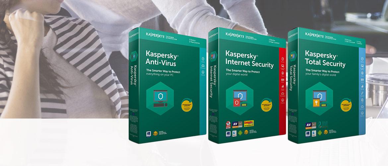 Kies uw Kaspersky lab Total security 2018