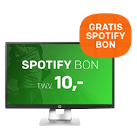 Op diverse HP monitoren ontvangt u GRATIS 10,- Spotify tegoed