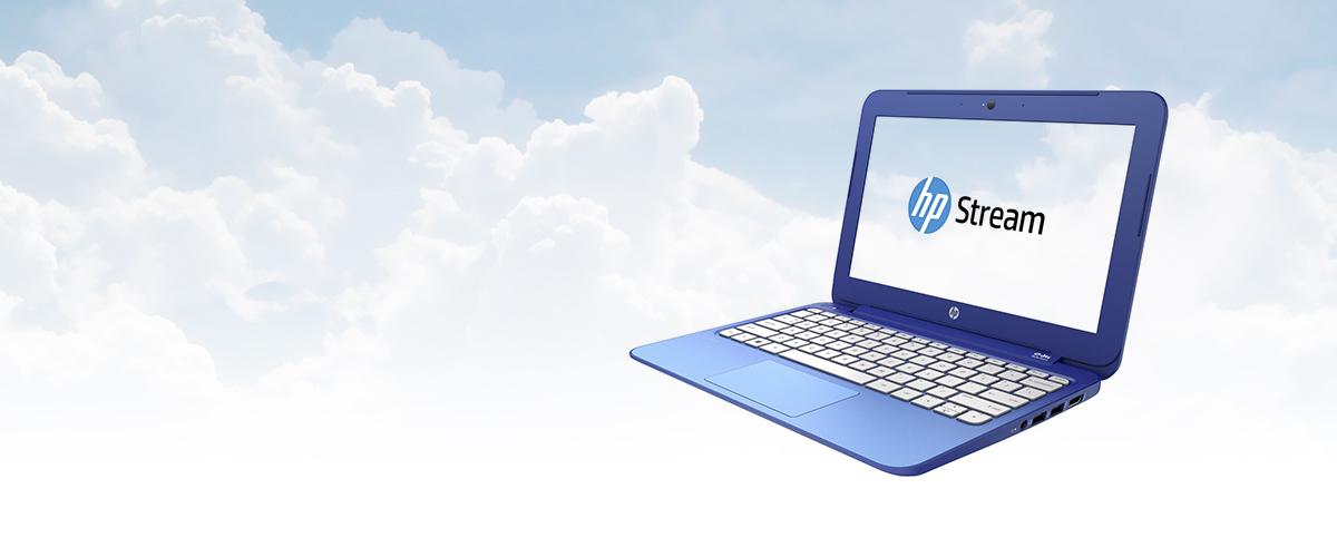 HP Stream - Werk in de Cloud en steel de show met uw dunne trendy notebook