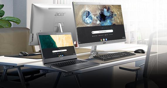 Bekijk de zakelijke Acer Chrome OS-apparaten