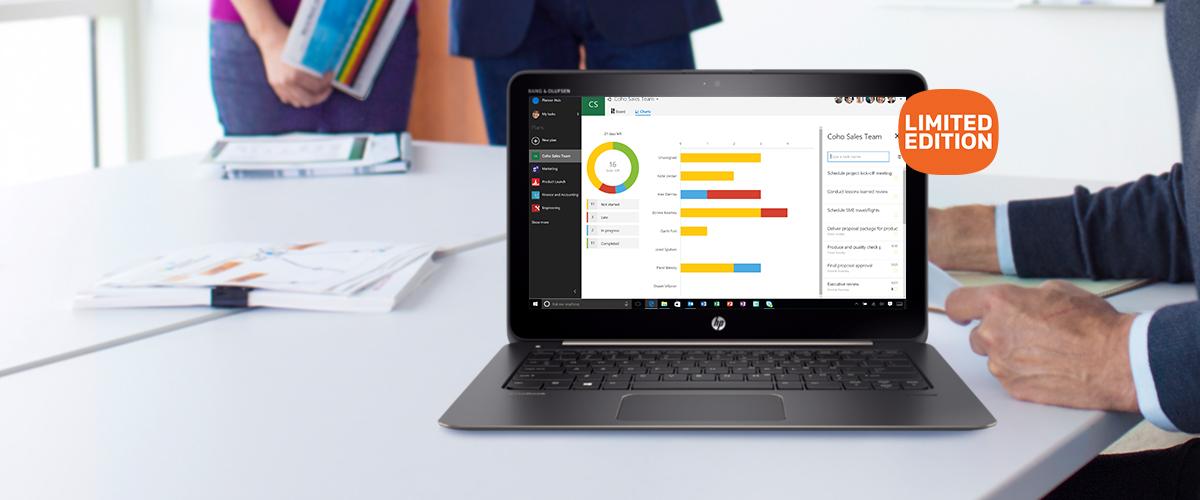 Dunne, lichte en hypermoderne HP notebook