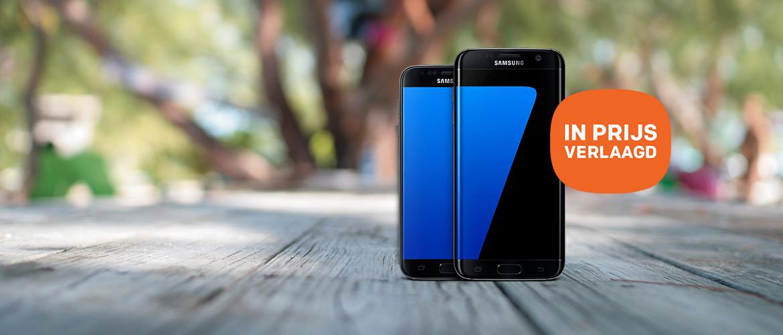 Spectaculaire prijsverlaging op de Samsung S7 en S7 Edge