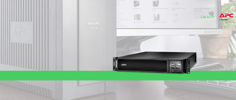 APC Smart UPS On-Line Rack mountable tot 10 kVA