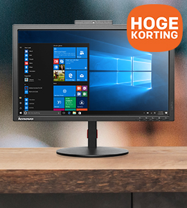 Lenovo desktops, workstations en monitors