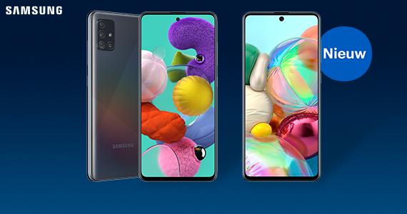 Maak kennis met de nieuwe Samsung Galaxy A-modellen