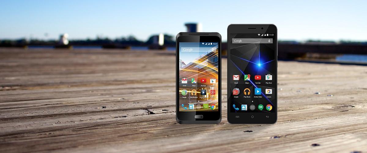 Archos smartphones op voorraad