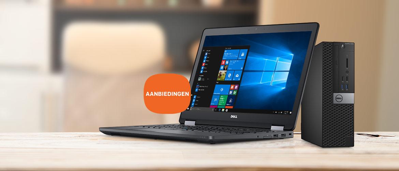 Koop uw nieuwe Dell EMC laptop of pc met veel korting