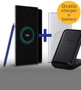 Gratis Wireless Charger en Battery Pack
