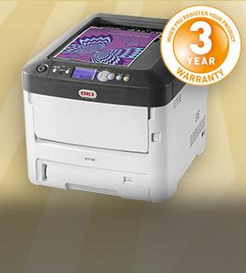 Scherp geprijsde OKI printers: