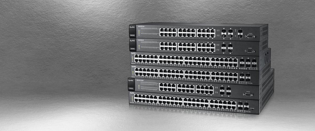 Januari Korting op 24- en 48-port ZyXEL Switches