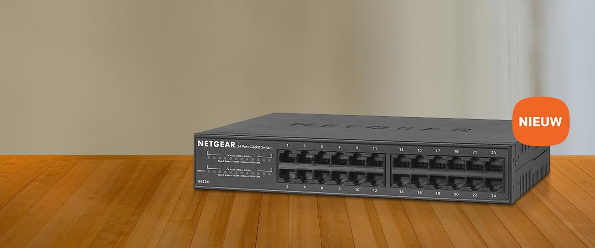 NETGEAR 16- en 24-port switches