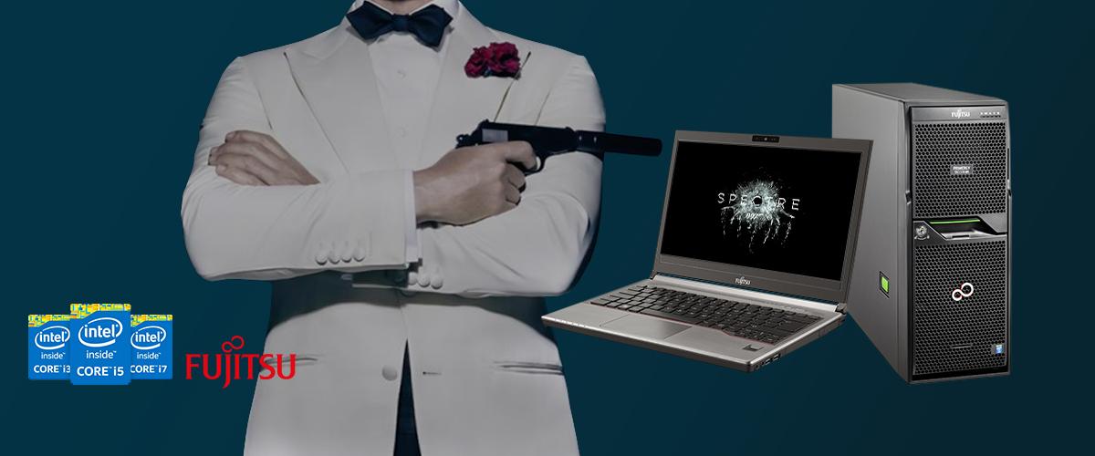 Fujitsu James Bond actie