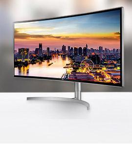 Werk efficiënter met een LG UltraWide monitor