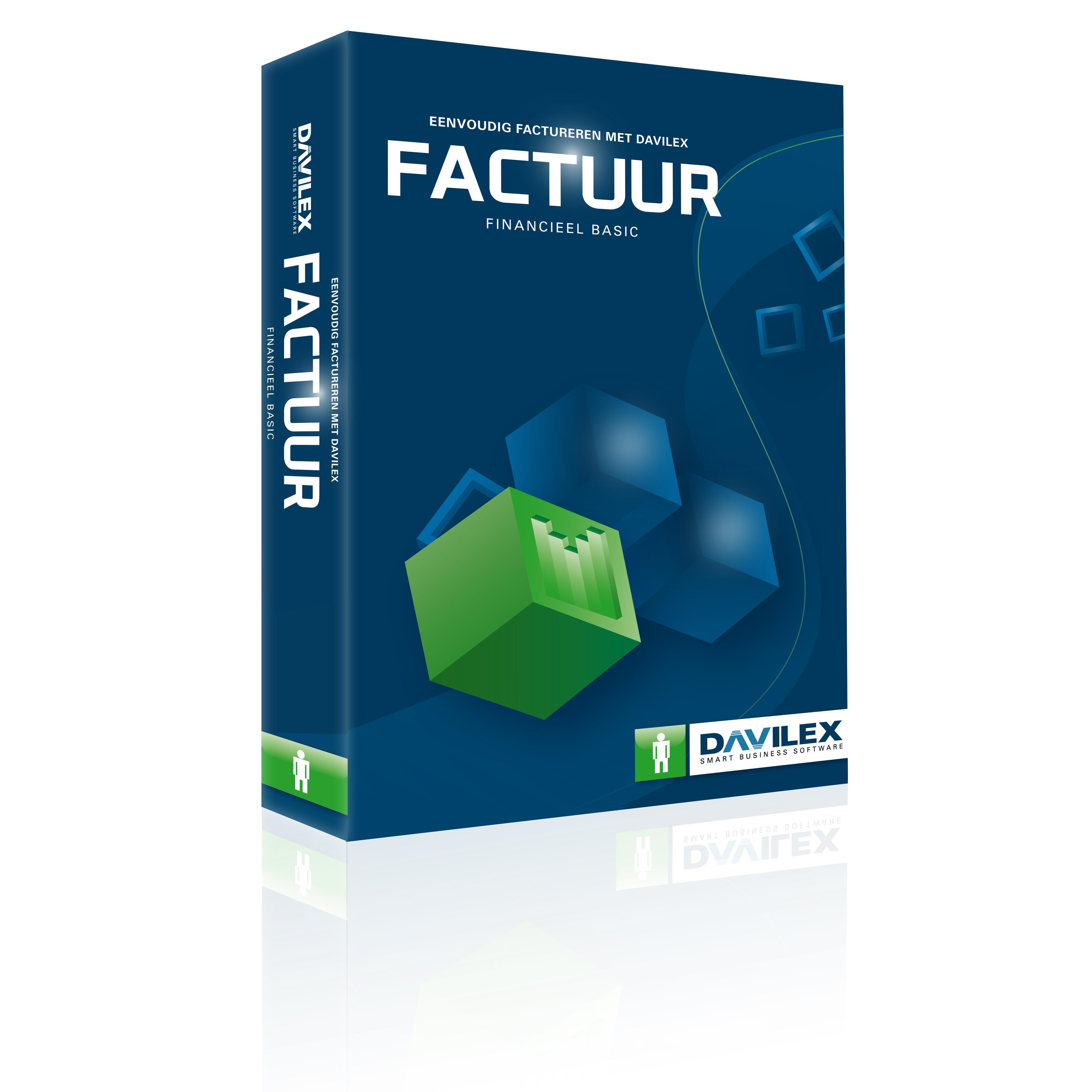 Davilex boekhoudpakket Factuur Basic 87.12823.00504.0 kopen