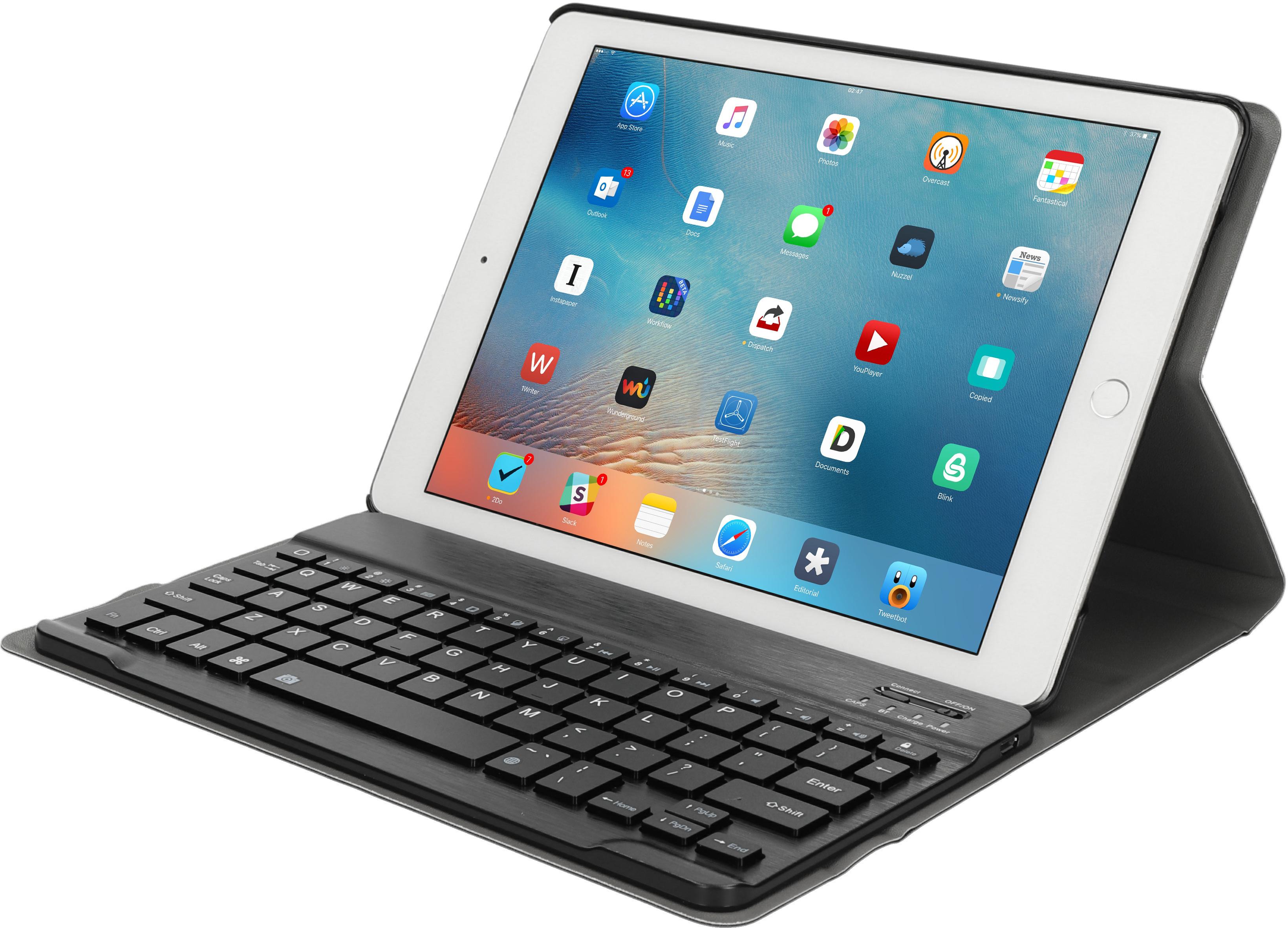 Mobiparts 31874 QWERTY Mobile device keyboard Zwart