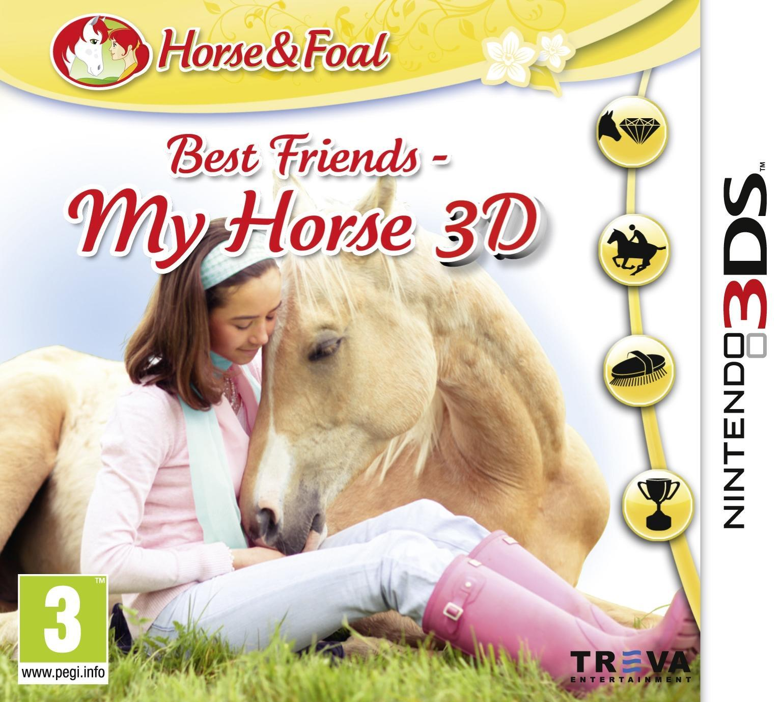 Namco bandai games game best friends my horse 3d 3ds e111198 kopen
