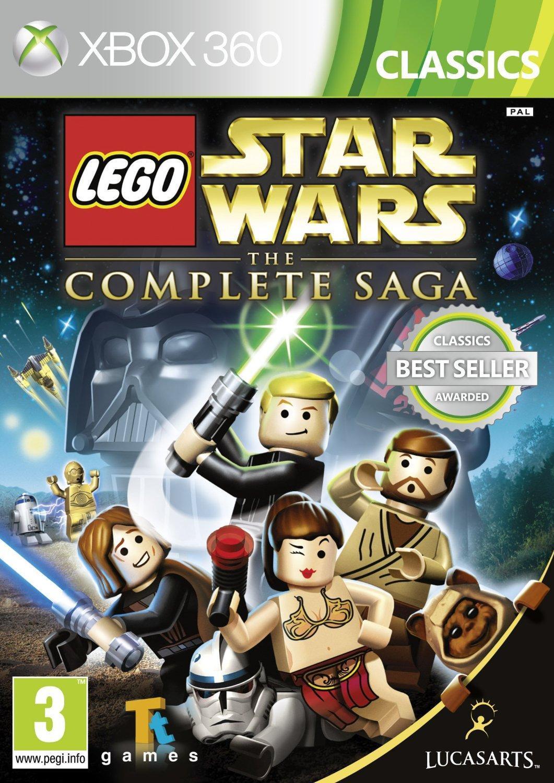 LucasArts LEGO, Star Wars, The Complete Saga (Classics) Xbox 360 (kf-101120) thumbnail
