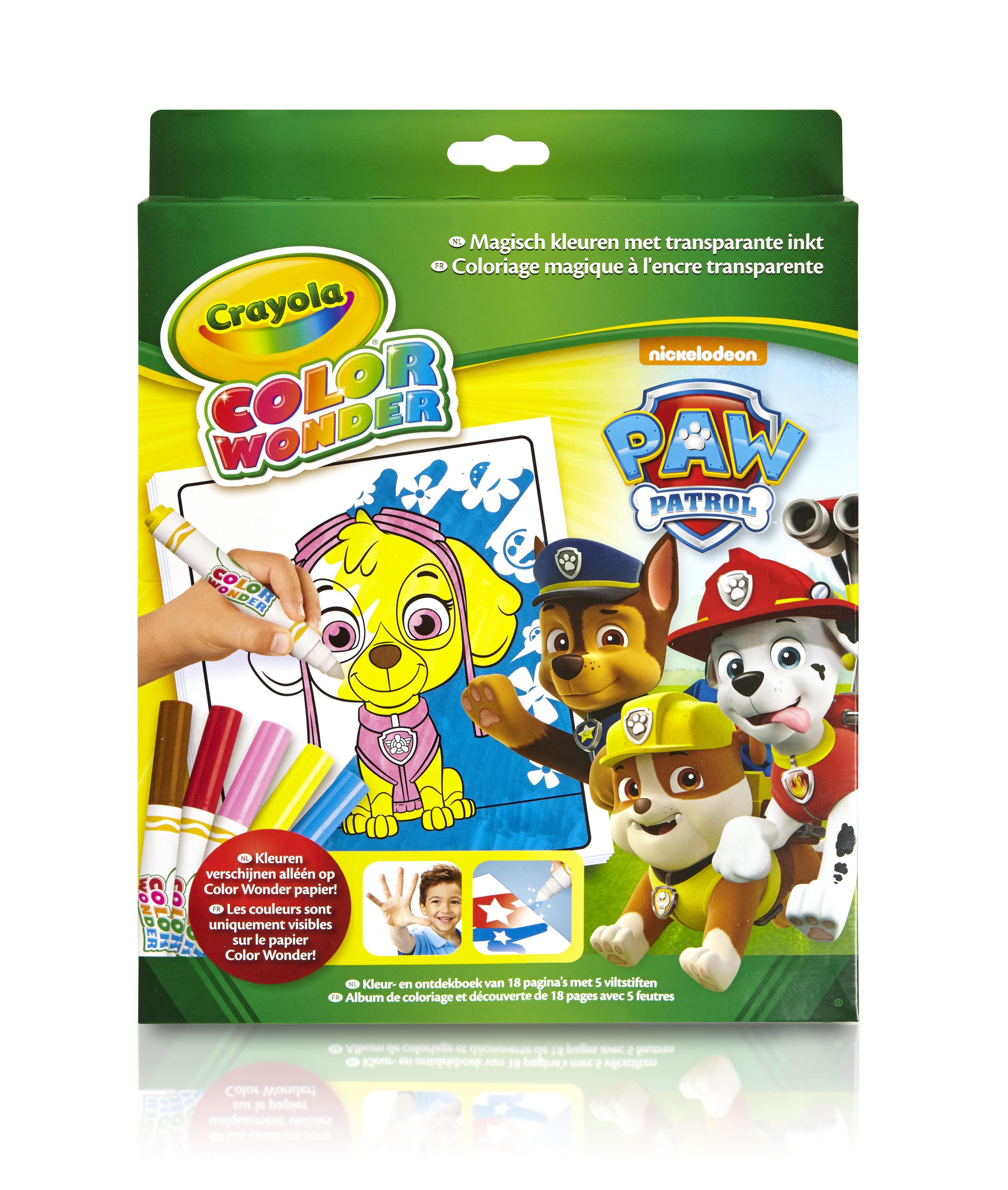 Crayola Color Wonder - Box Paw Patrol (CC070013) thumbnail