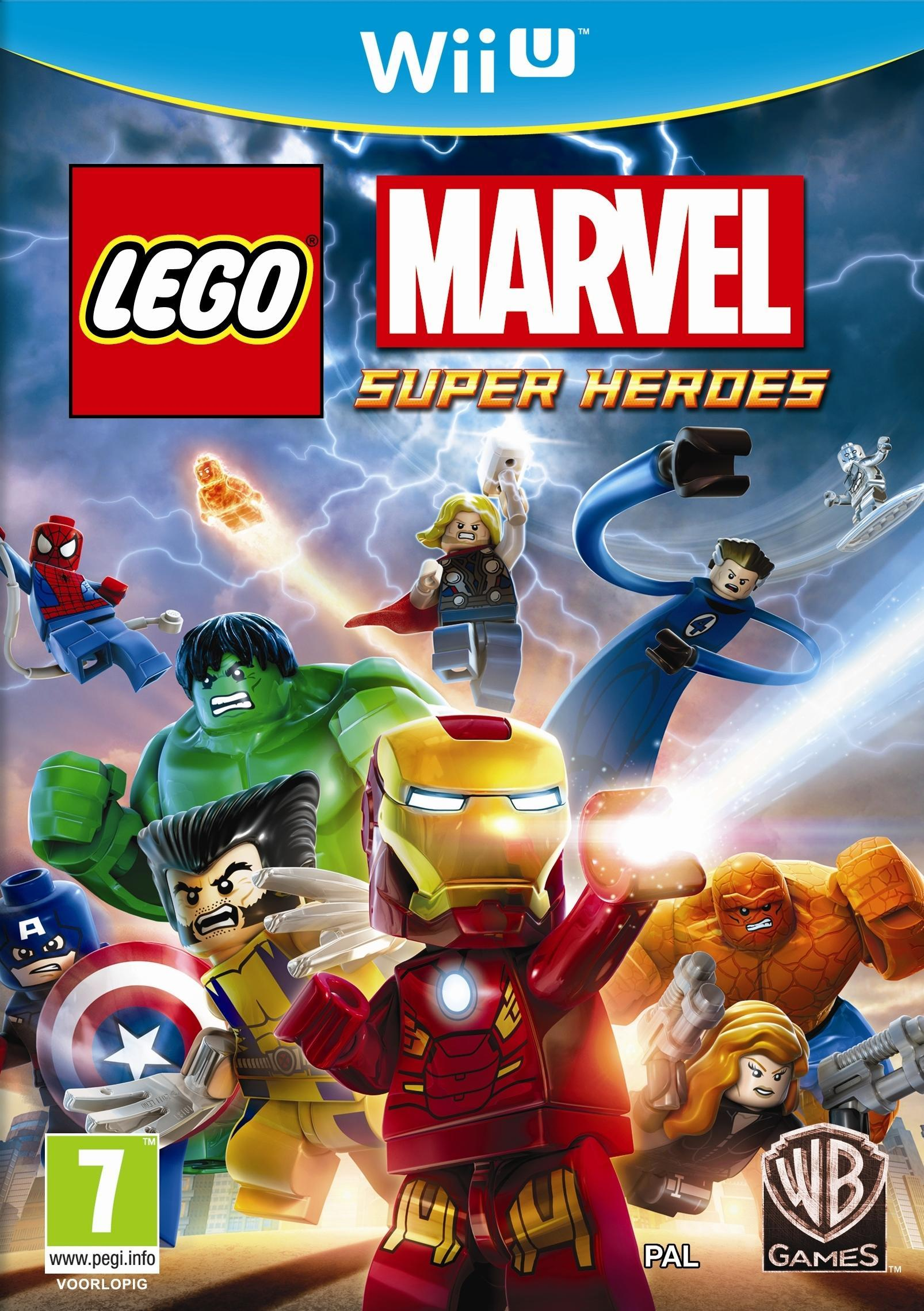 Warner Bros LEGO Marvel Super Heroes Wii U (1000401083) thumbnail