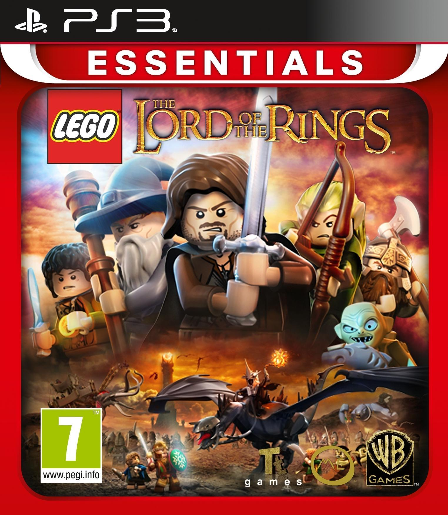 Warner Bros LEGO, In de ban van de Ring (Essentials) PS3 (1000486079) thumbnail