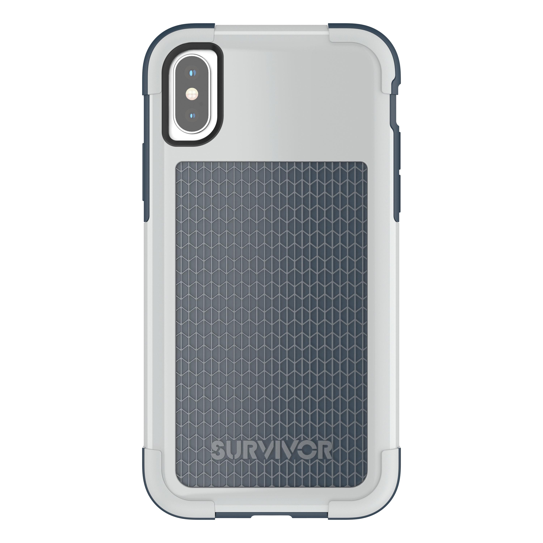 new product 6a615 3ef61 Griffin mobile phone case: Survivor Fit - Blauw, Grijs