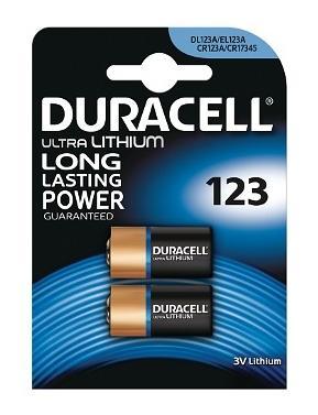 Duracell Batterij Ultra M3 Lithium Pack Of 2 Dl123 X2 Kopen Online