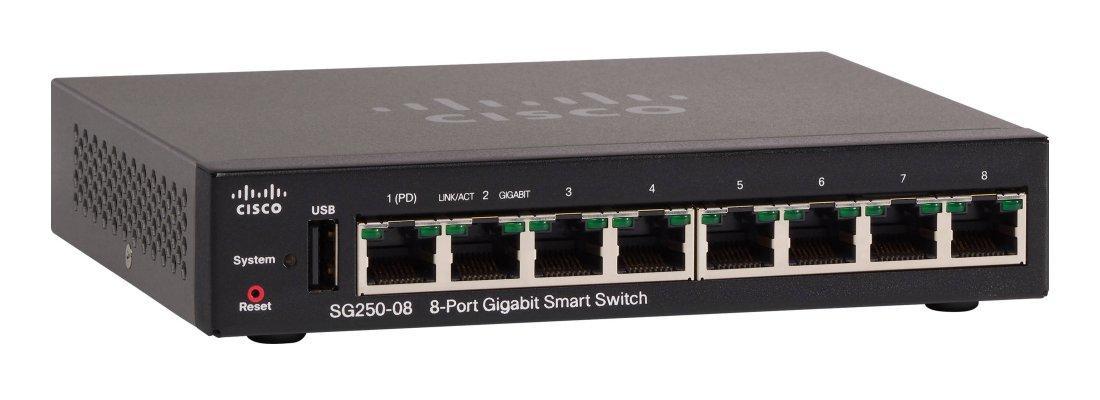 Cisco 8-poorts Gigabit switch