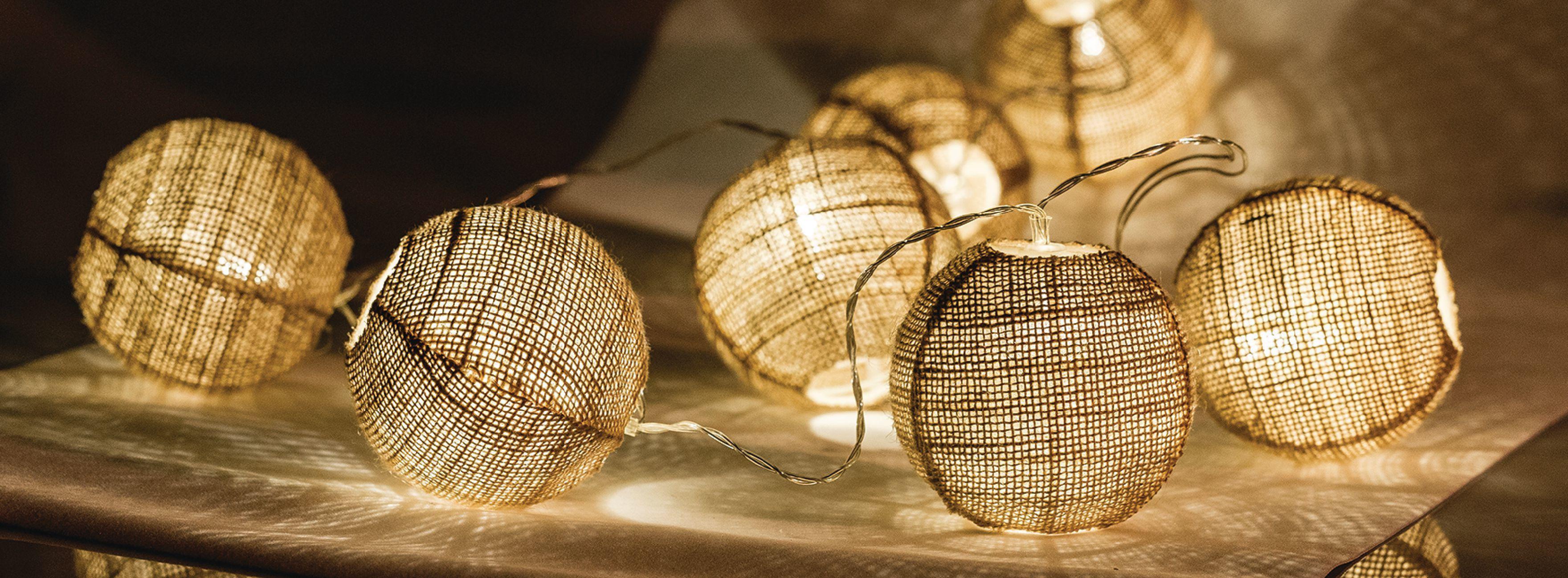 HQ decoratieve verlichting 10x LED, 4.5V, 0.02W, 3 x AAA, Warm White ...