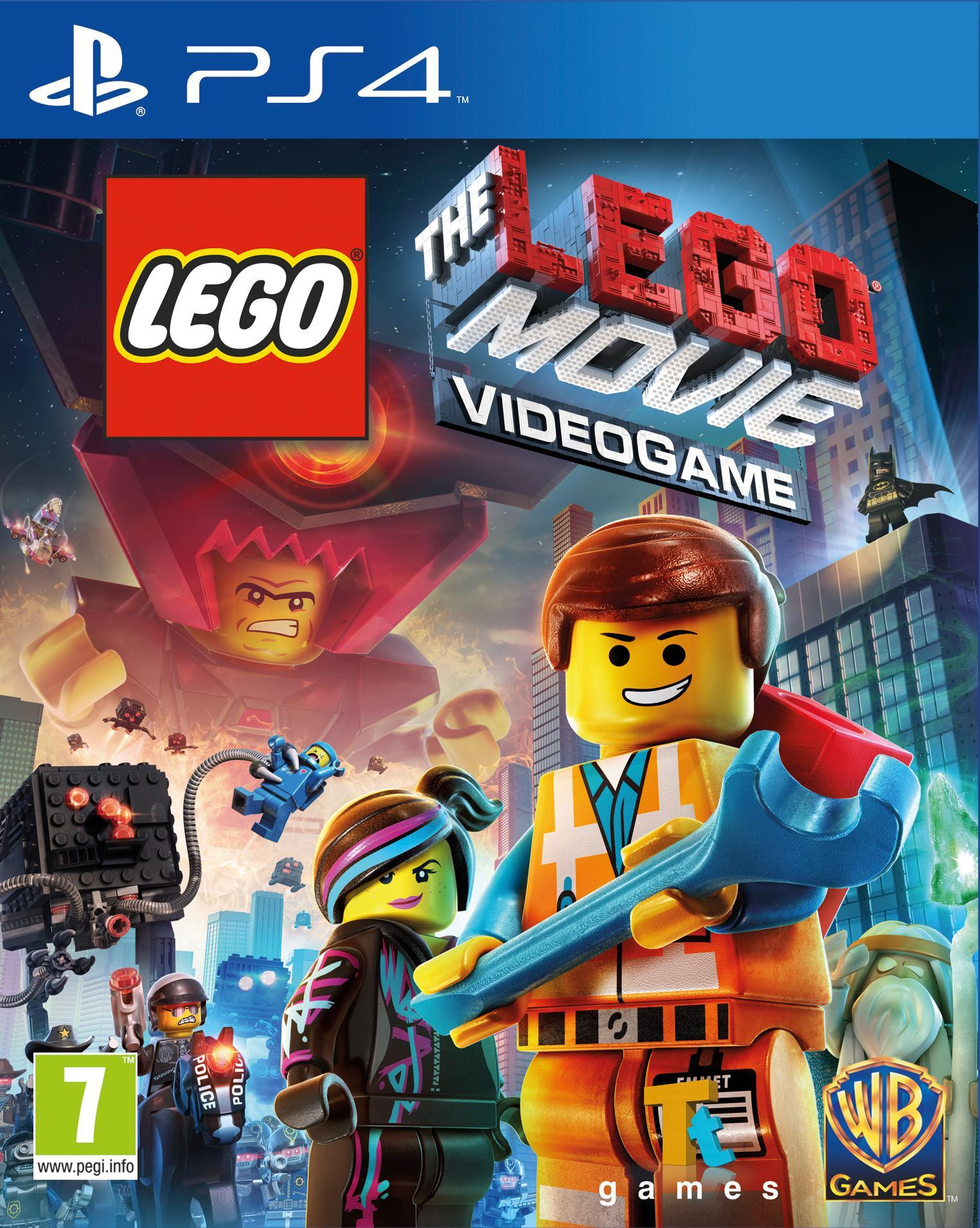 Warner Bros LEGO Movie PS4 (1000452194) thumbnail