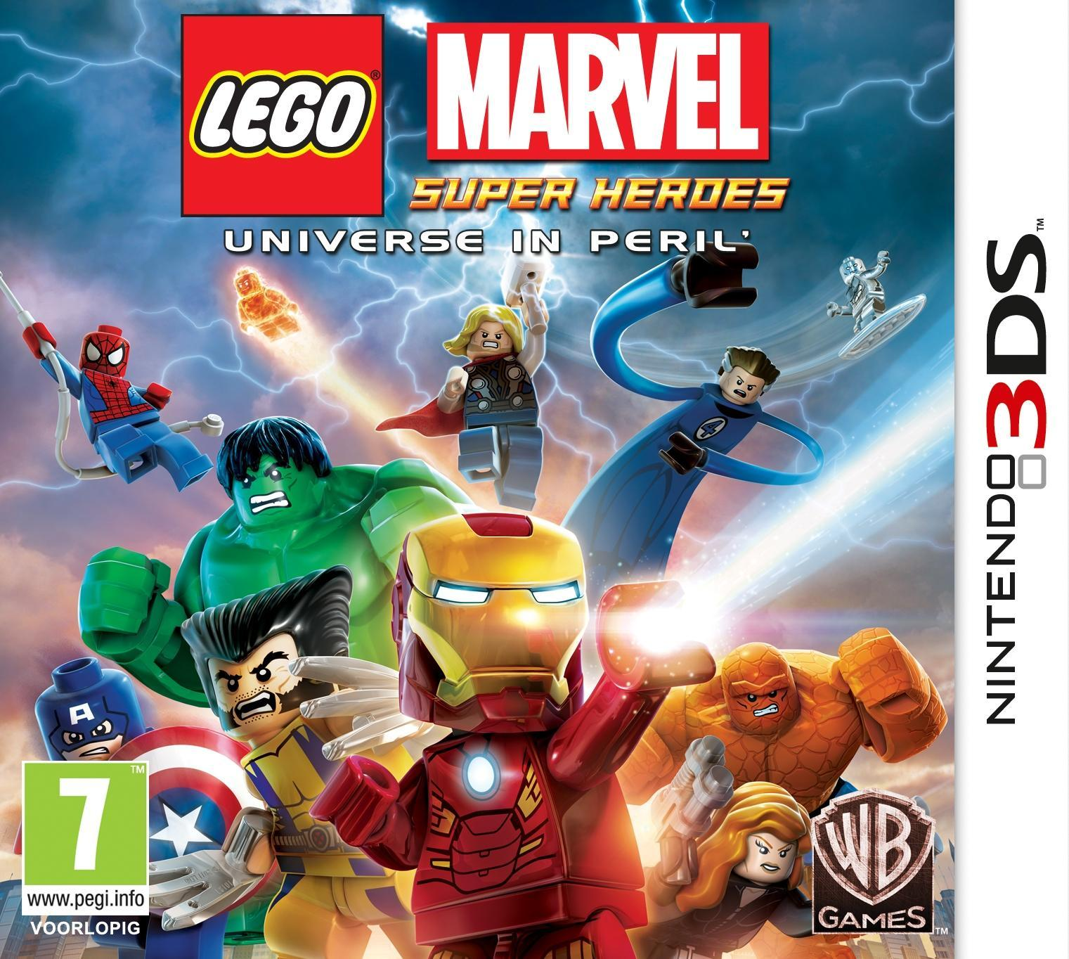 Warner Bros LEGO Marvel Super Heroes 3DS (1000401087) thumbnail