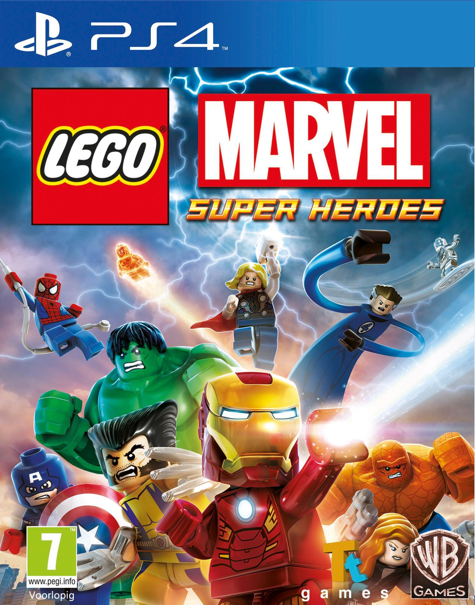 Warner Bros LEGO Marvel Super Heroes PS4 (1000436982) thumbnail