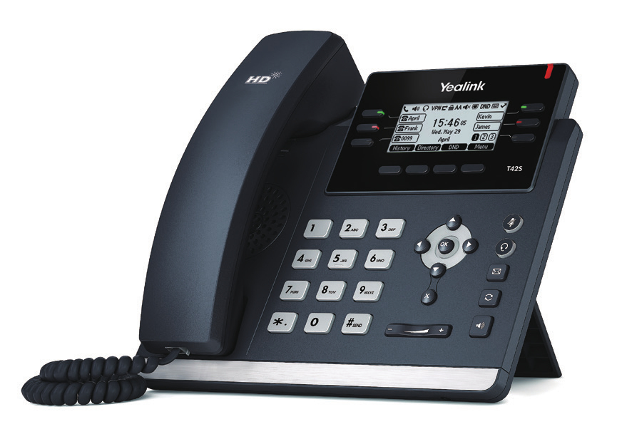 Afbeeldingsresultaat voor Yealink SIP-T42S Phone