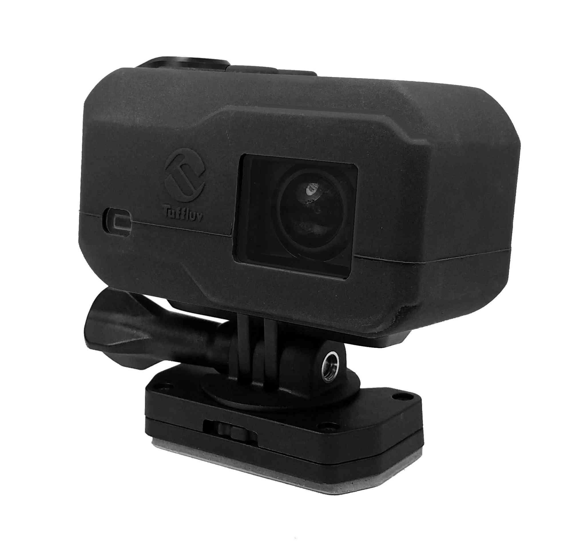 Tuff-Luv Silicone Gel hoes voor Garmin Virb X-XE Camera- Zwart